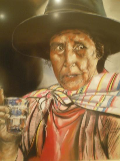 inca ( tableau à vendre).